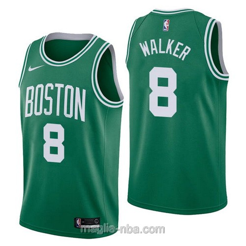 Maglia nba Nike Boston Celtics #8 Kemba Walker verde