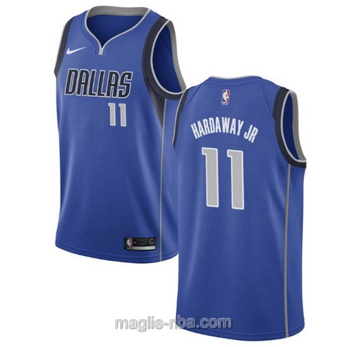 Maglia nba Nike Dallas Mavericks #11 Tim Hardaway Jr blu