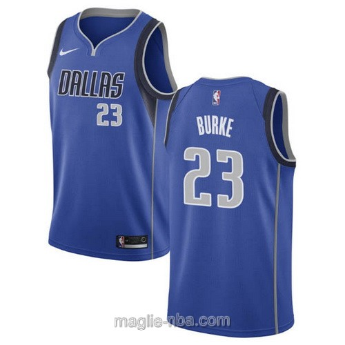 Maglia nba Nike Dallas Mavericks #23 Trey Burke blu