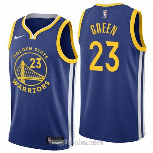 Maglia nba Nike Golden State Warriors #23 Draymond Green 2019-20 blu