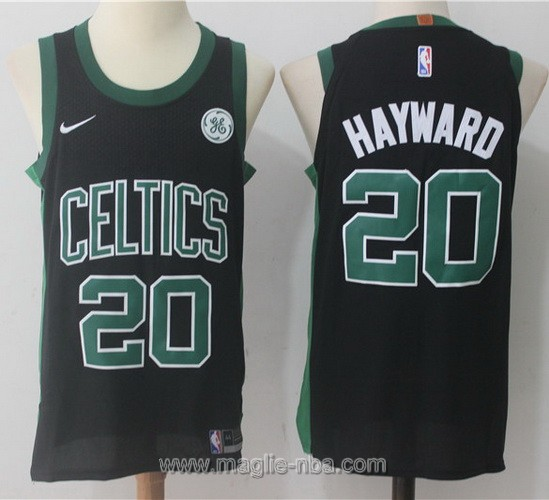 Maglia nba Nike #20 Gordon Hayward Boston Celtics nero