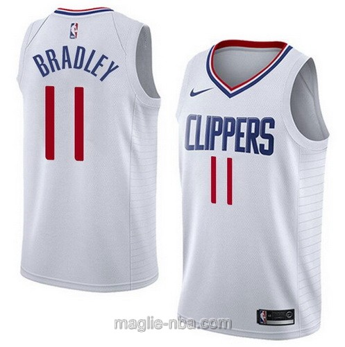 Maglia nba Nike Los Angeles Clippers #11 Avery Bradley bianco