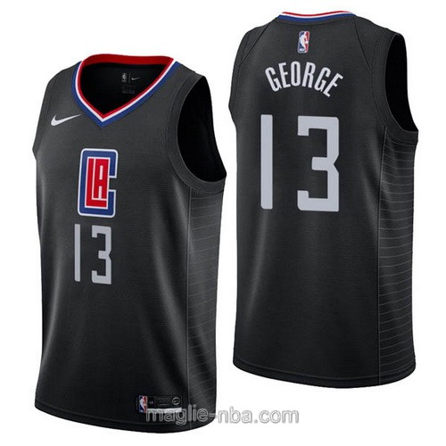 Maglia nba Nike Los Angeles Clippers #13 Paul George nero