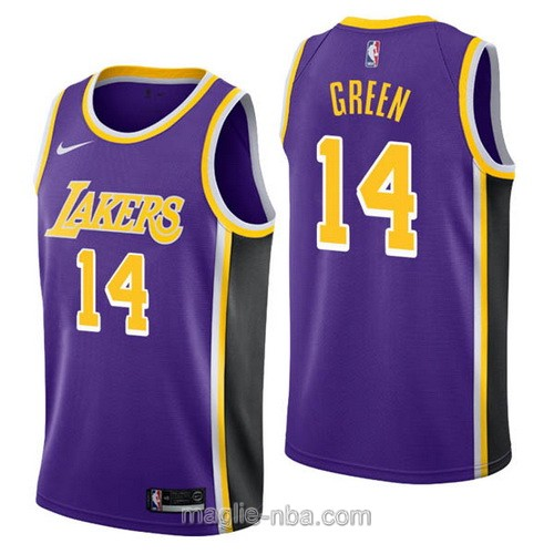 Maglia nba Nike Los Angeles Lakers #14 Danny Green porpora
