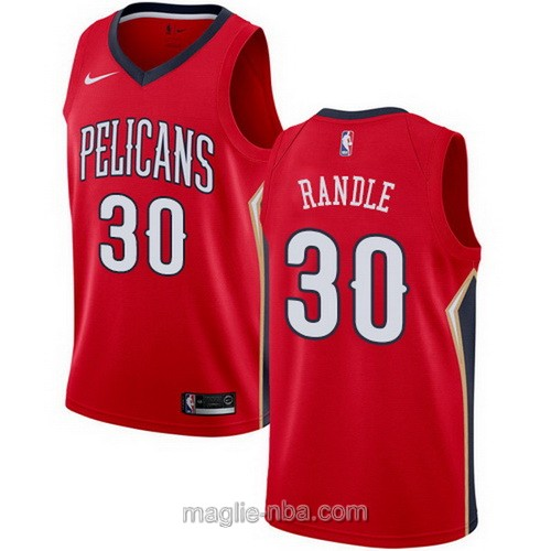 Maglia nba Nike New Orleans Pelicans #30 Julius Randle rosso