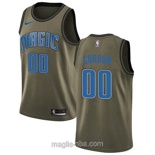 Maglia nba Nike Orlando Magic #00 Aaron Gordon verde