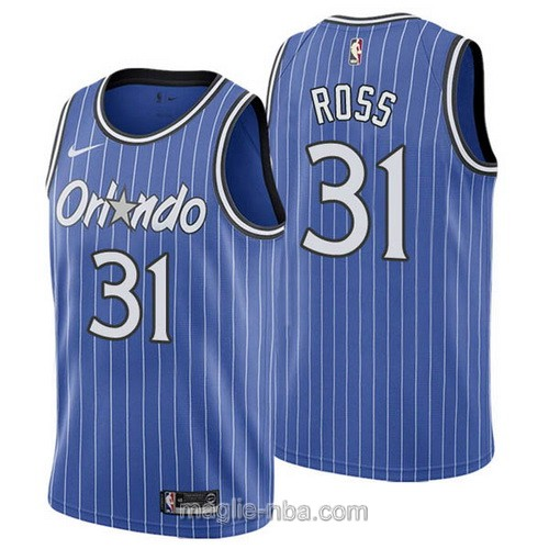 Maglia nba Nike Orlando Magic #31 Terrence Ross retro blu