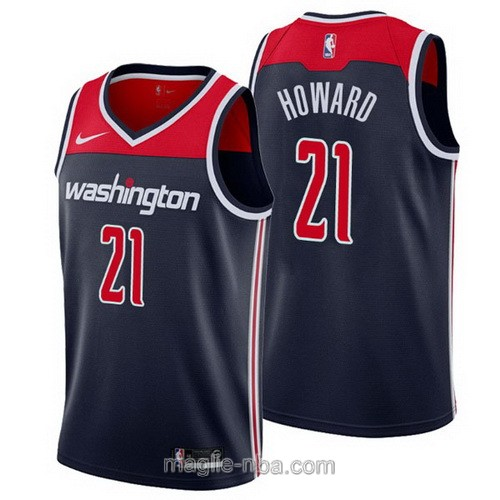 Maglia nba Nike Washington Wizards #21 Dwight Howard blu