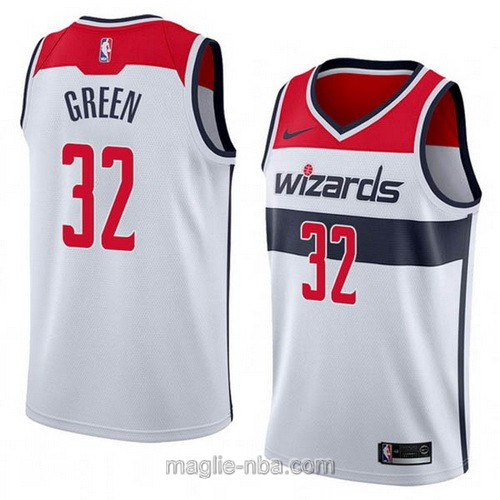 Maglia nba Nike Washington Wizards #32 Jeff Green bianco