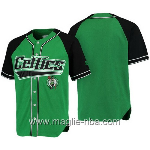 Maglie NBA a maniche corte Boston Celtics verde
