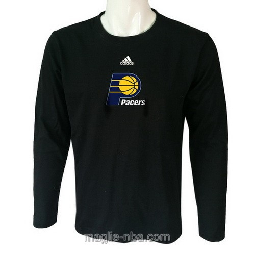 Maglie manica lunga Indiana Pacers nero