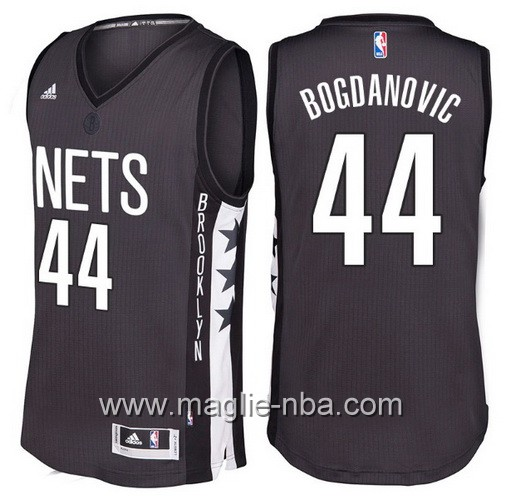 Maglie nba 2016 2017 Brooklyn Nets Bojan Bogdanovic #44 nera