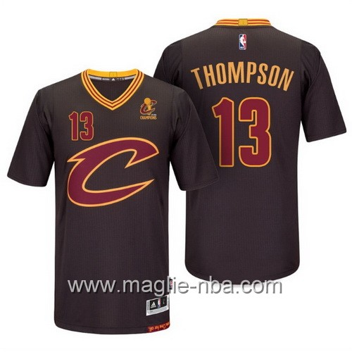Maglie nba 2016 Cleveland Cavaliers Tristan Thompson #13 nero