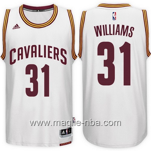 Maglie nba 2017 Cleveland Cavaliers Deron Williams #31 bianco