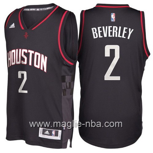 Maglie nba 2017 Patrick Beverley #2 Houston Rockets nero