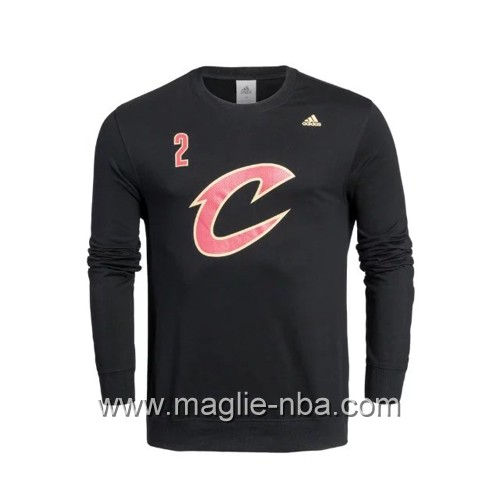 Maglione Adidas NBA Cleveland Cavaliers Kyrie Irving #2 nero