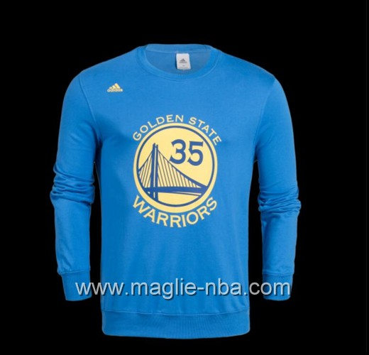 Maglione Adidas NBA Golden State Warriors Kevin Durant #35 blu