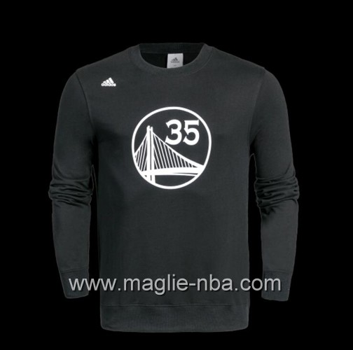 Maglione Adidas NBA Golden State Warriors Kevin Durant #35 nero