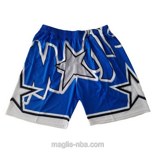 Pantaloncini basket NBA Big face blu Orlando Magic