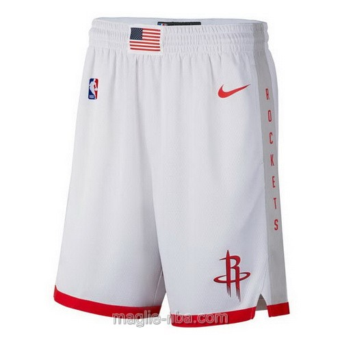 Pantaloncini basket NBA City Edition Nike bianco Houston Rockets 2019-20
