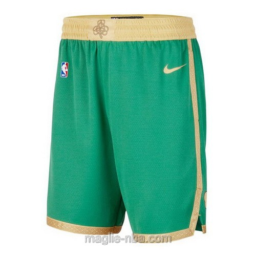 Pantaloncini basket NBA City Edition Nike verde Boston Celtics 2019-20