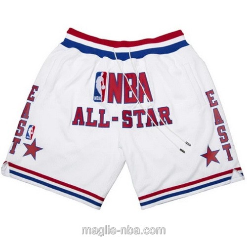 Pantaloncini basket NBA Just Don bianco all star game 2003