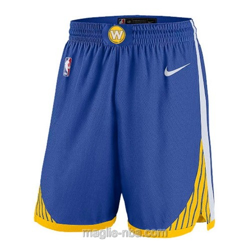 Pantaloncini basket NBA Nike blu Golden State Warriors