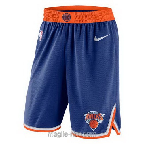 Pantaloncini basket NBA Nike blu New York Knicks