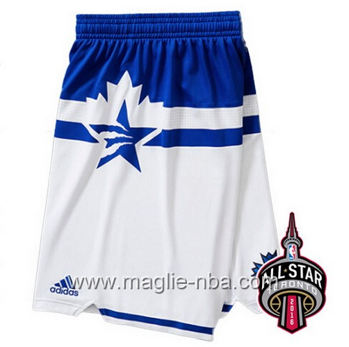 Pantaloncini nba All Star Game 2016 West bianco