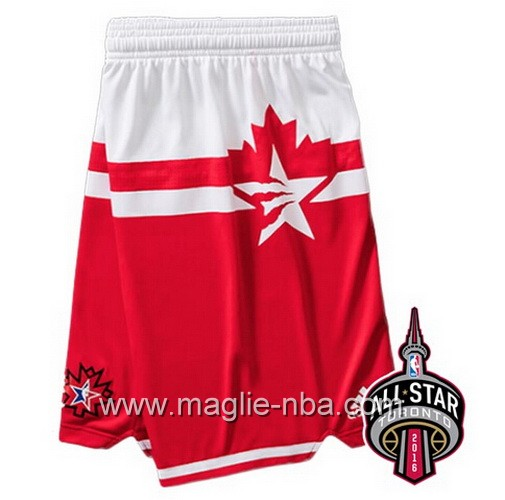 Pantaloncini nba All Star Game 2016 West rosso