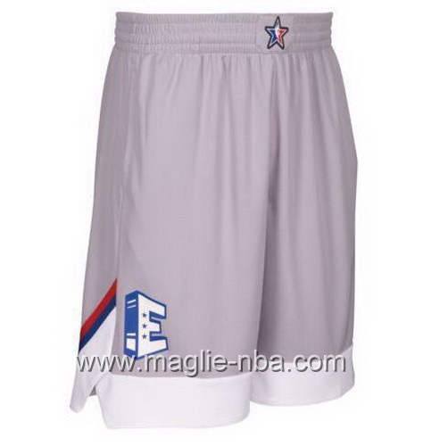 Pantaloncini nba All Star Game 2017 East grigio