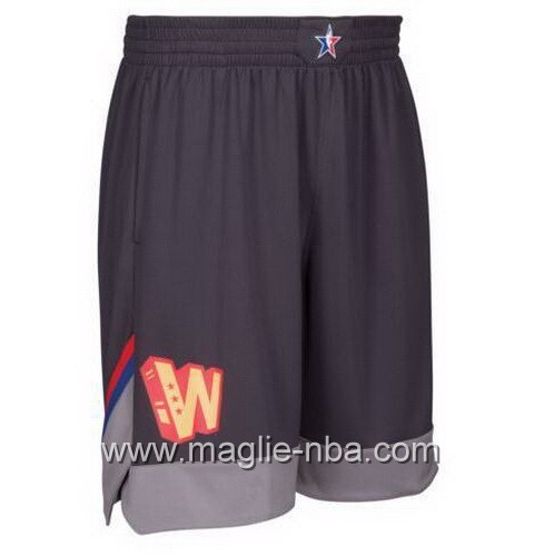 Pantaloncini nba All Star Game 2017 West nero