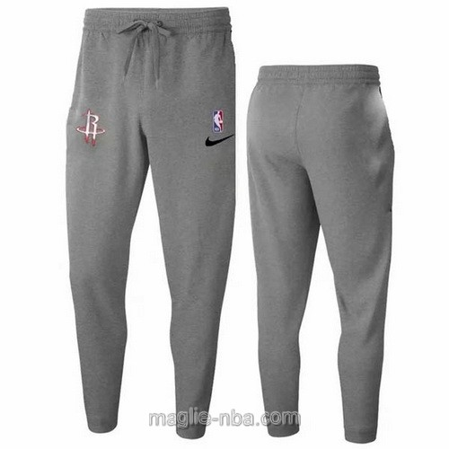 Pantaloncini sportivi basket NBA grigio Houston Rockets