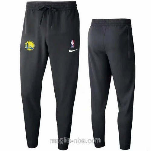 Pantaloncini sportivi basket NBA nero Golden State Warriors