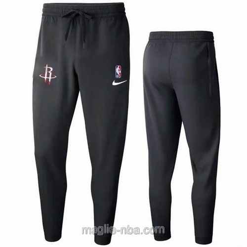 Pantaloncini sportivi basket NBA nero Houston Rockets