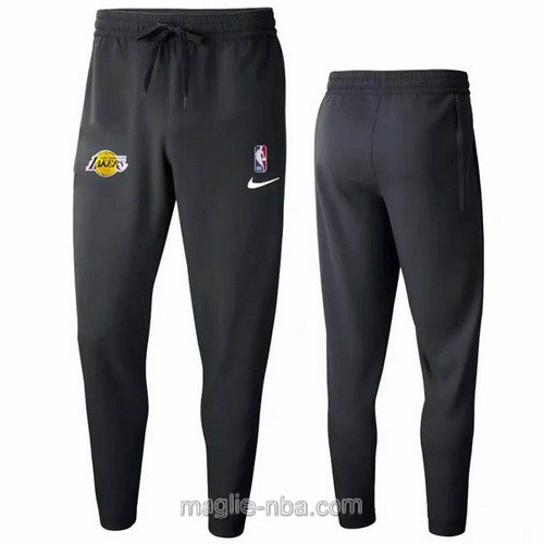 Pantaloncini sportivi basket NBA nero Los Angeles Lakers