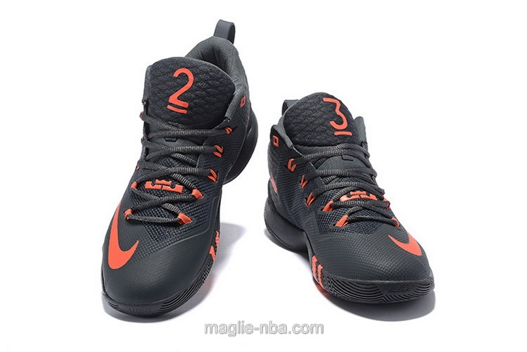 Scarpe da basket Nike nero LeBron James inviato 9th Generation uomo