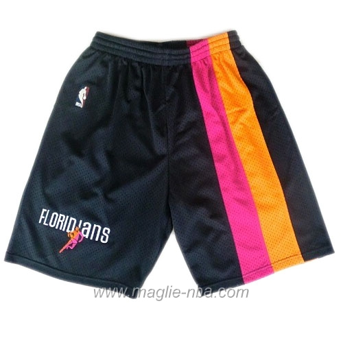 Pantaloncini basket nba ABA nero Miami Heat