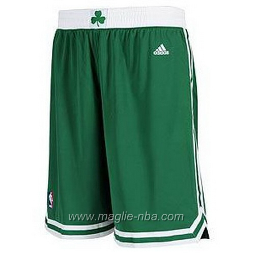 Pantaloncini basket nba Boston Celtics verde