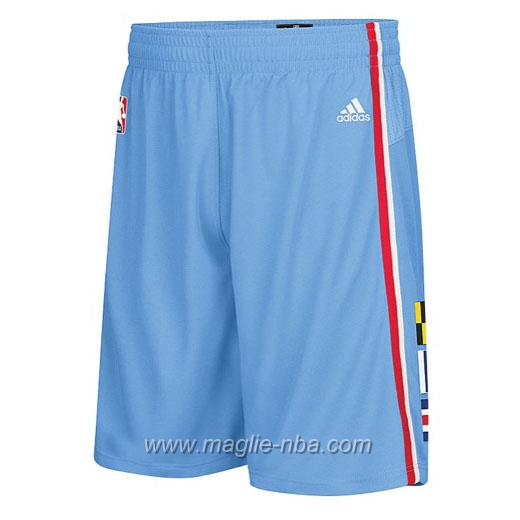 Pantaloncini basket nba Segherie Classics blu Los Angeles Clippers