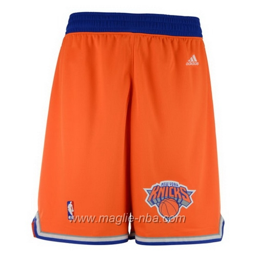Pantaloncini basket nba arancione New York Knicks
