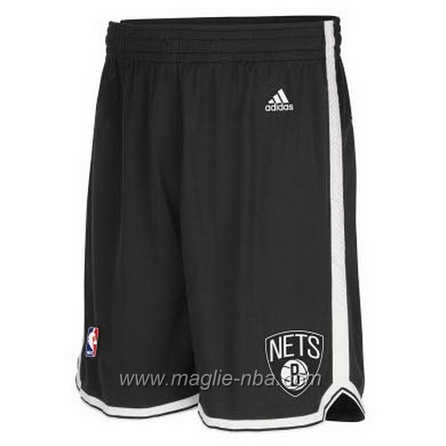 Pantaloncini basket nba nero Brooklyn Nets