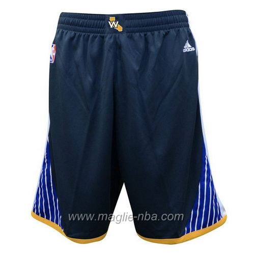 Pantaloncini basket nba nero Golden State Warriors