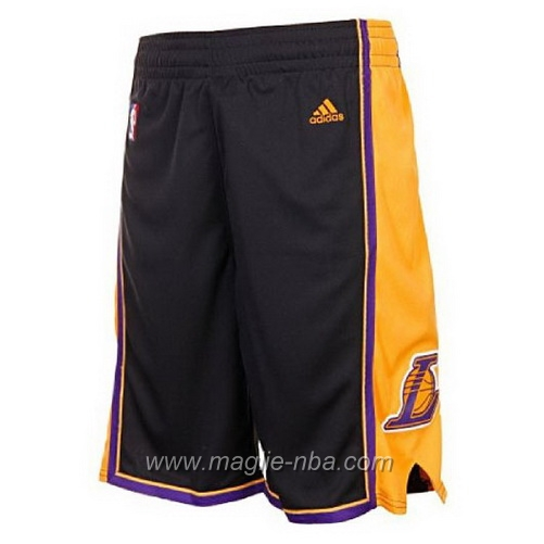 Pantaloncini basket nba nero Los Angeles Lakers