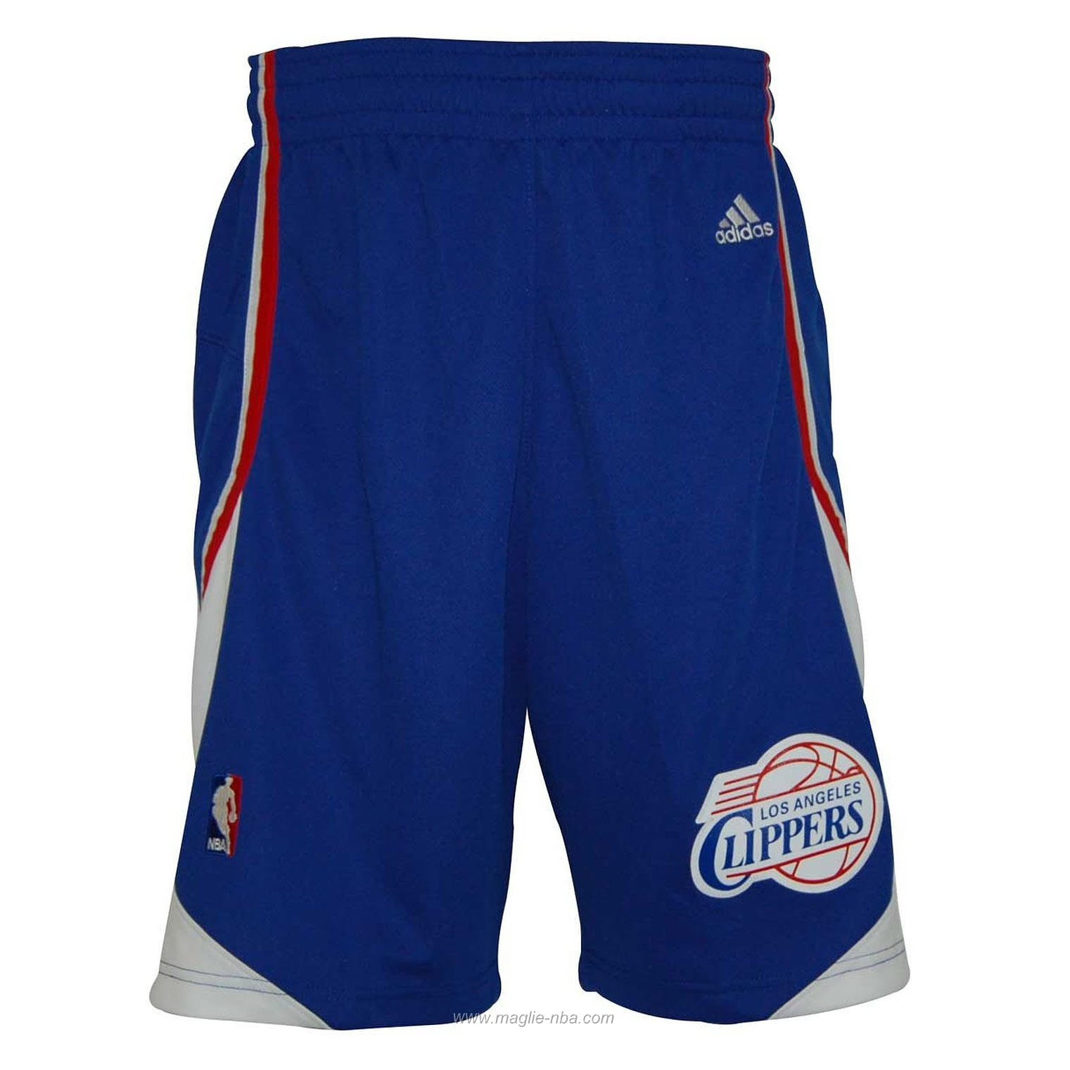 Pantaloncini basket nba blu Los Angeles Clippers