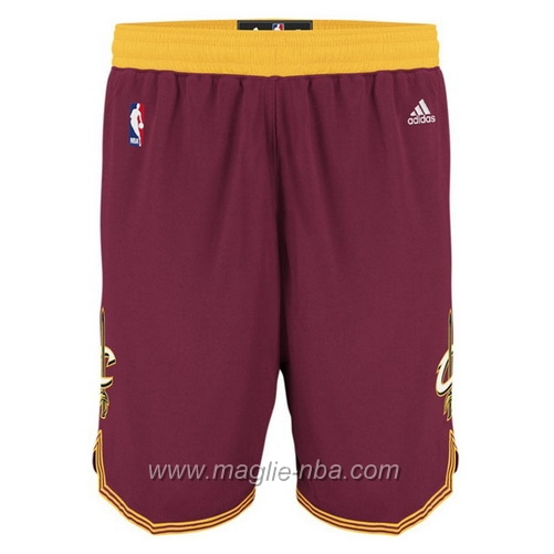 Pantaloncini basket nba rosso Cleveland Cavaliers