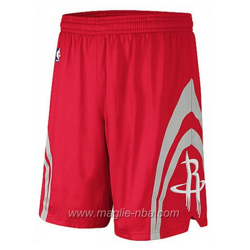 Pantaloncini basket nba rosso Houston Rockets