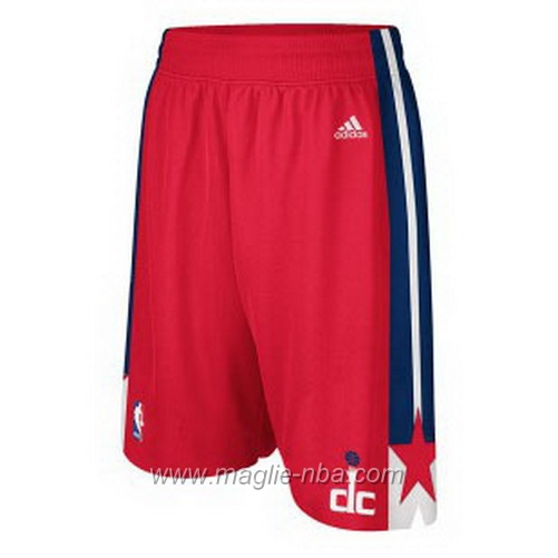 Pantaloncini basket nba rosso Washington Wizards