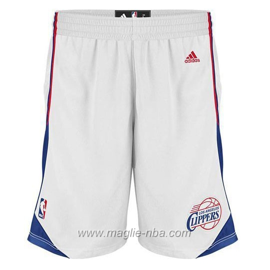 Pantaloncini basket nba bianco Los Angeles Clippers
