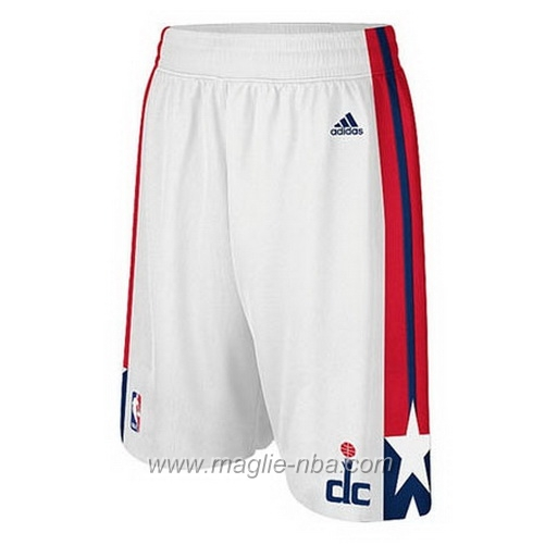 Pantaloncini basket nba bianco Washington Wizards